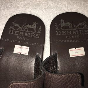 Other - Boys Hemmes H  slides chocolate brown size 1/2